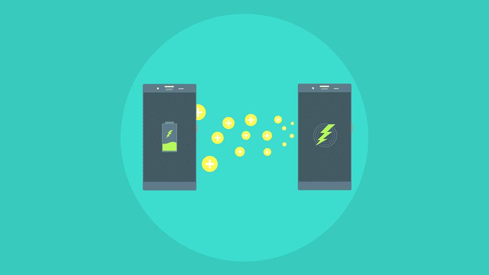 イメージ画像。スマホと画面の充電マーク。