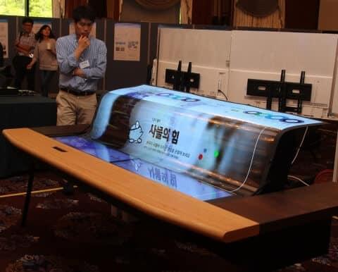 LG-透明ディスプレイ画像