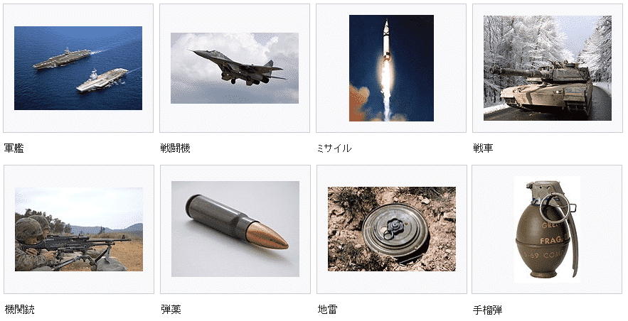 軍需産業画像