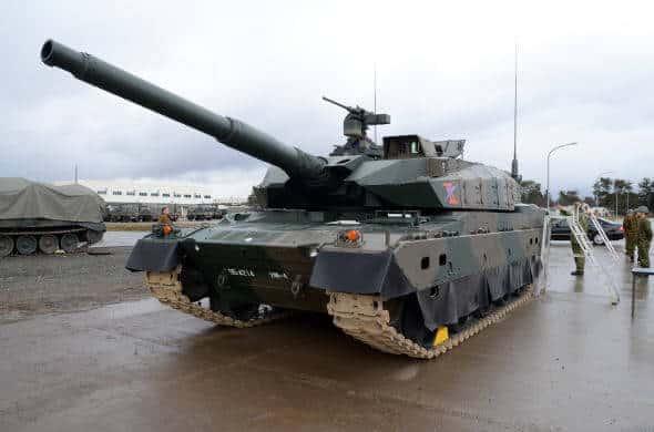 10式戦車画像