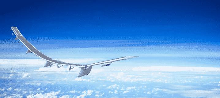 ソフトバンクが開発した無人航空機HAWK30