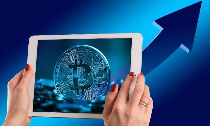 ビットコイン送金イメージ画像
